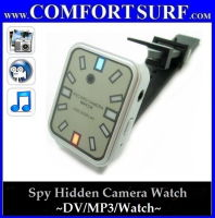 Spy Hidden Camera Watch + MP3 Player Wrist Watch DV Camera