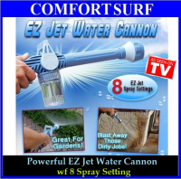 EZ Jet Water Cannon with 8 Spray Setting