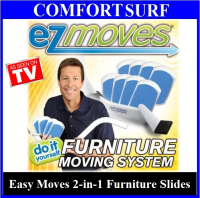 EZ Easy Moves 2 in 1 Furniture Slides - The Do-It yourself Furniture Moving System