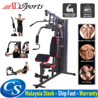 F7 Multi Function Home Gym Station: Fitness Workout Press Machine With 68KG