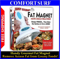Handy Gourmet Fat Magnet - Removes Access Fat from Greasy Food