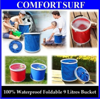 Foldable & Easy Carry 9 Litre Bucket Pail