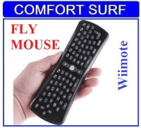 Flying Air Mouse - Wii-mote Wireless Keyboard + Mouse