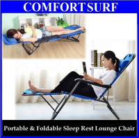 Portable & Foldable Dual 178 Brand Sleeping Nap Lounge Chair
