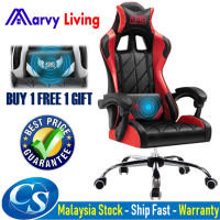 Kerusi Gaming Computer Chair Office Gaming Chair Student Game Seat Internet Cafe Swivel Chair Back Boss Chair