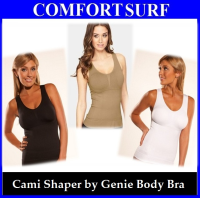 Cami Shaper by Genie Body Bra - Brown Color