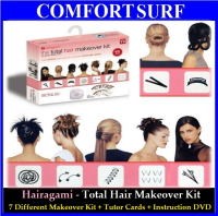 Hairgami - The Total Hair Makeover Kit by Barbara Stachowski