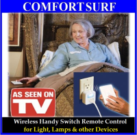 Handy Switch Smart Wireless Remote Control Light, Lamp & other Devices
