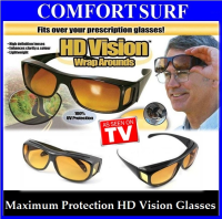 Maximum Protection HD Vision Wrap Arounds Sunglasses