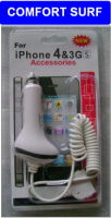 Apple iPhone 4, 3Gs, 3G Car Charger