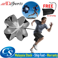ADSPorts Speed Resistance Training Parachute Adjustable Parachute Movement Jogging Track Running Power Chute Training