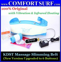 KDST Massage Slimming Belt with Vibration, Infrared Red Heating Function