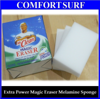 Extra Power Original Mr. Clean Magic Eraser Melamine Sponge 1 Box 4 Packs