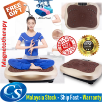 NEW UPGRADED Magnetotherapy Whole Body Shaker Vibration Plate Body Shaper Slimming Massage Fitness Machine