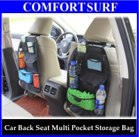 Car Multi Pockets Back Seat Organizer Hanging Holder Storage Bag