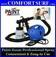 DIY Paint Zoom Professional Electric Spray Gun System with 3 Way Spray