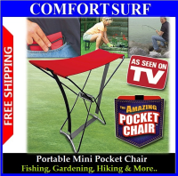 The Amazing Pocket Chair - Take A Seat Anywhere!!
