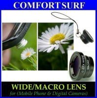 Wide/(0.67x)Macro Lens-Magnet Mount Conversion Lens for Mobile Phone & Digital Cameras