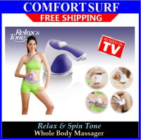Relax & Spin Tone Whole Body Massager Slimming, Toning & Relaxing All in One Amazing Device
