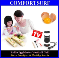 Egg Master Vertical Grill Cooking for Breakfast
