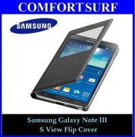 Samsung Galaxy Note III S View OEM Cover Casing with Free Screen Protector