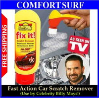 Fix it! Fast Action Car Scratch Remover Polish Kit