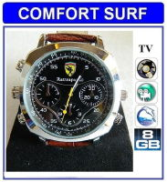 8GB HD 720p Waterproof Spy Watch