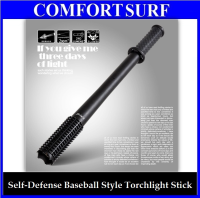 Self Defence Baseball  Style Stick Torchlight Flashlight
