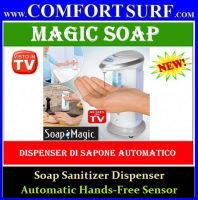 Soap Magic: New Safe Automatic Hands-Free Sensor Soap Sanitizer Dispenser
