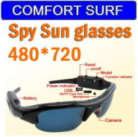 HD Spy Sun Glasses Camera, Audio, Video Camcorder