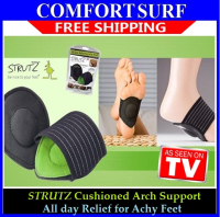 New!! All-Day Relief for Achy Feet! STRUTZ Cushioned Arch Support