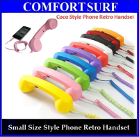 Mini Fashionable Creative Coco Style Phone Retro Handset for Smartphone iPhone, iPad, Samsung, HTC etc