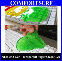 BUY 1 FREE 1! NEW 2nd Generation Magic Super Clean Gyu Slimy Gel (Transparent)