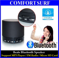 Mini Bluetooth hand-free speaker for phone calling + MP3 Player + FM Radio