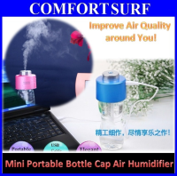 Mini USB Portable Water Bottle Caps Air Fresh Humidifier