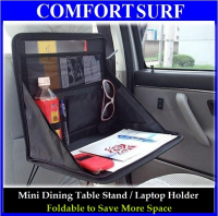 Multi-Purpose Foldable Mini Car Laptop Holder / Dining Table Stand / Store or Keep Files