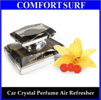 Crystal Car Perfume Air Fresher Sweet Fragrance