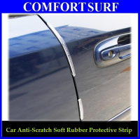 Car Side Door Protect Anti Scratch Soft Rubber Strip