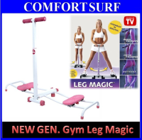 Gym Leg Magic - Super Fast Leg Slimming Fitness Workout (Pink Color)