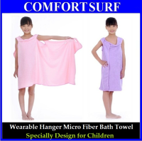 Magic Wearable Micro Fiber Hanger Bath Towel for Children (A2)
