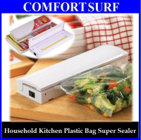Reseal & Save Household Kitchen Plastic Bag Sealer