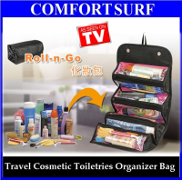 Roll-N-Go Travel Cosmetic Toiletries Jewelry Organize Store Bag