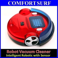 Intelligent Robotic Vacuum Cleaner Automatic Working with Sensor