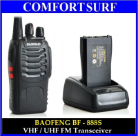 16 Channel Baofeng BF - 888S VHF / UHF FM Transceiver Walkie Talkie