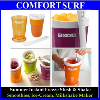 Zuko Coloful Summer Instant Freeze Slush & Shake Smoothies Ice-Cream Milkshake Maker