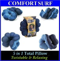Twistable Relaxing 5 in 1 Total Pillow for Perfect Support of your whole Body