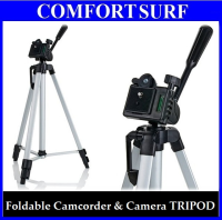 KT-330A Foldable Camcorder & Camera Tripod with Free Carrying Bag