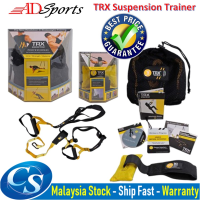 ADSports TRX - Suspension Trainer Kit Complete Full Body Workouts Training Kits Portable Home Gym Full Body Workout
