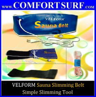 VELFORM Sauna Slimming Belt Fat Burn & Quick Lose Weight