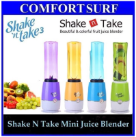Shake N Take 3 3rd Generation Mini Juice Blender 2 Bottle